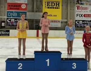 Sanna Hagen Slettebø. 2.plass