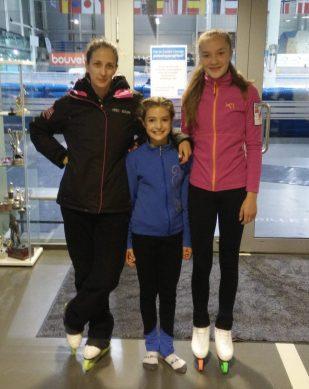 Fra venstre Sara, Mia og Sanna