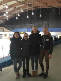 Iona, Michelle, Sanna og Liv Nora