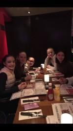 Mia, Sanna, Michelle, Therese og Iona