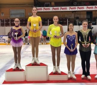 Michelle 2.plass, Sanna 3. plass