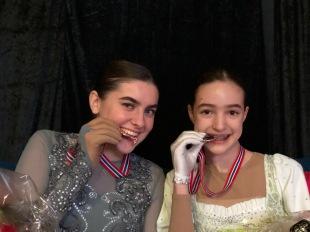 Marie Haas og Mia Risa