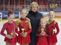 Ingrid, Ane, Danguole, Diana og Amalie