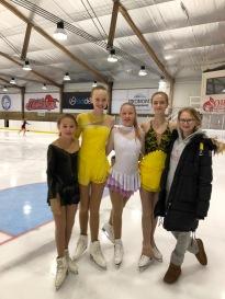 Selma, Emma, Isabell, Tonja og Astrid Kristine