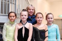 Erika, Nora, Selma, Anna og Danguole